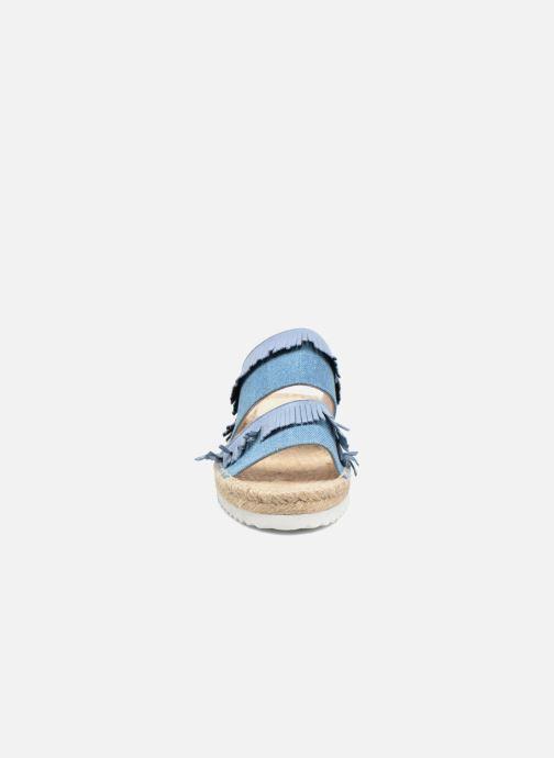 Mules et sabots Anaki Buenosa Bleu vue portées chaussures