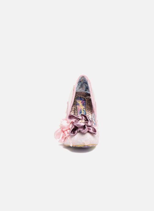 Escarpins Irregular Choice Peach Melba Rose vue portées chaussures