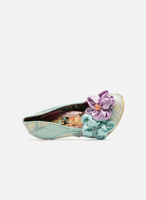 Escarpins Irregular Choice Peach Melba Vert vue gauche