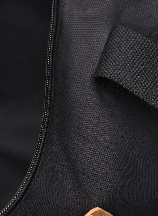 Sacs de sport Faguo Duffle Cotton Noir vue derrière
