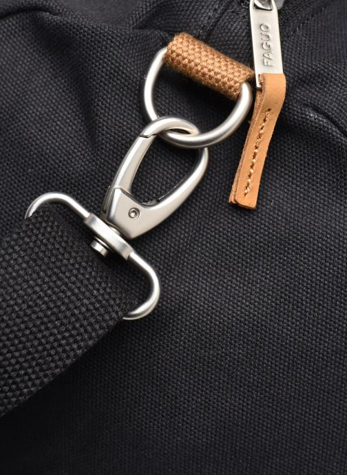 Sacs de sport Faguo Duffle Cotton Noir vue gauche