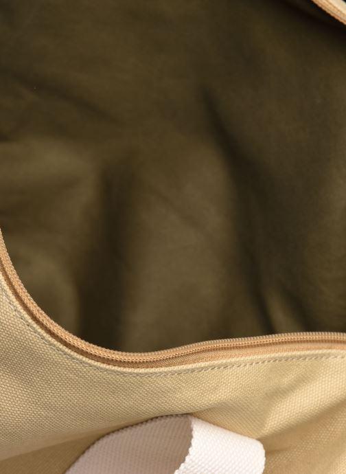 Sacs de sport Faguo Duffle Cotton Beige vue derrière