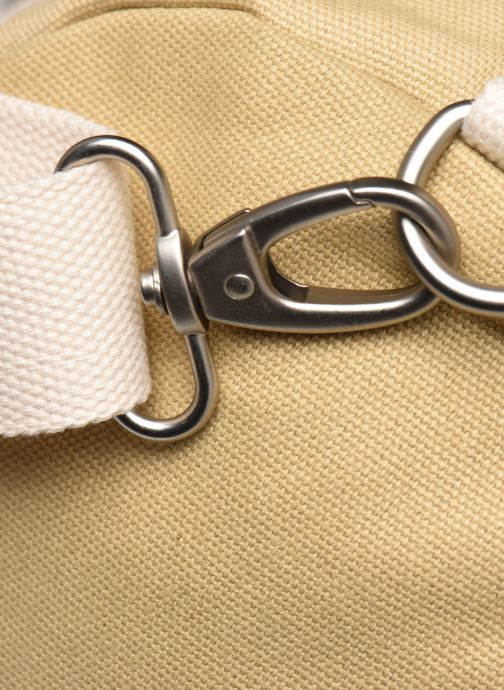 Sacs de sport Faguo Duffle Cotton Beige vue gauche