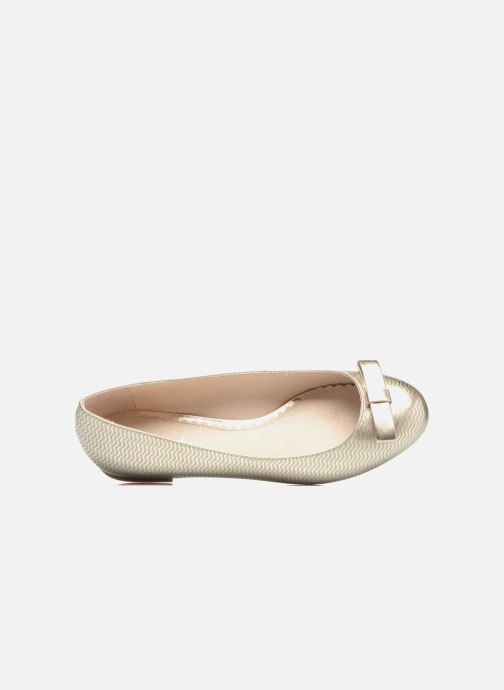 Ballerines Mellow Yellow Balowen Or et bronze vue gauche