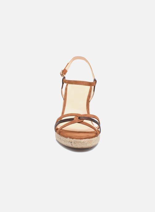 Sandales et nu-pieds Mellow Yellow Berlina Marron vue portées chaussures