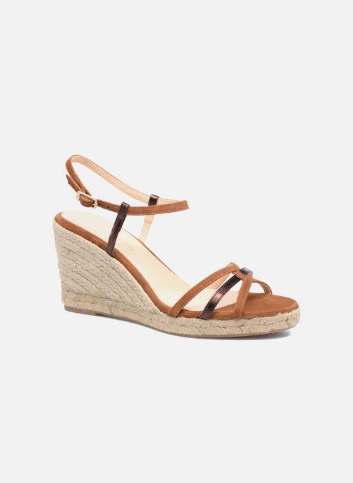 Sandales et nu-pieds Mellow Yellow Berlina Marron vue détail/paire