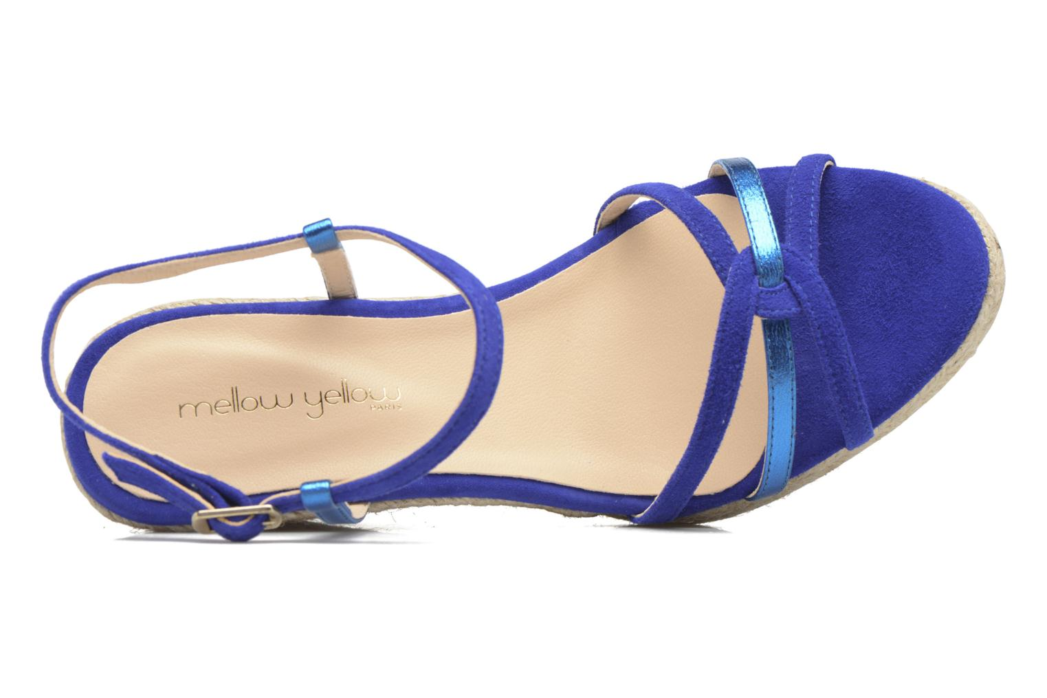 Sandalen Mellow Yellow Berlina Blauw links