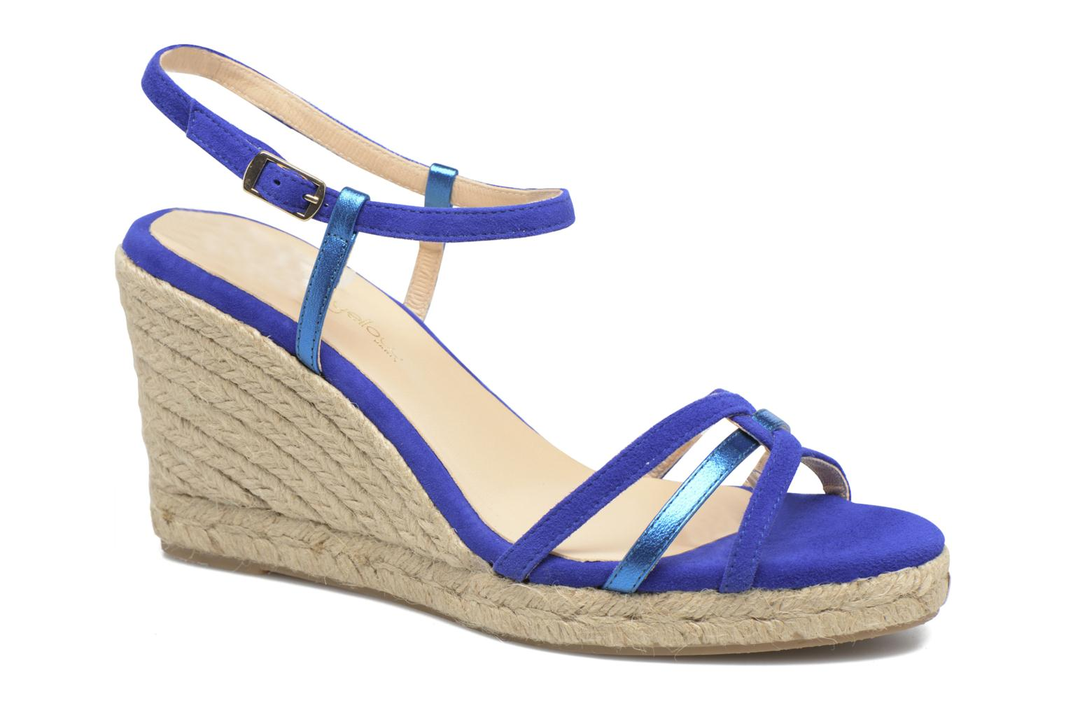 Sandalen Mellow Yellow Berlina Blauw detail