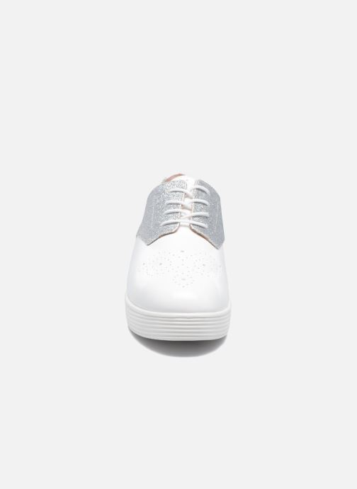 Chaussures à lacets Mellow Yellow Bigli Blanc vue portées chaussures