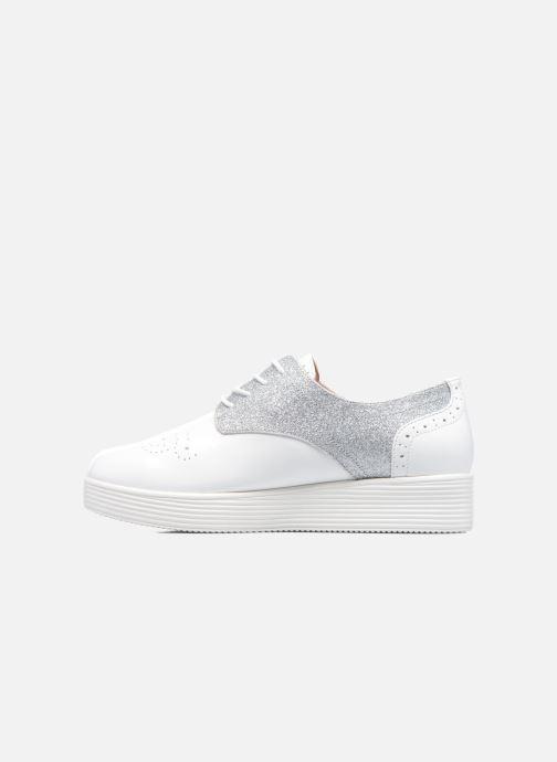 Chaussures à lacets Mellow Yellow Bigli Blanc vue face