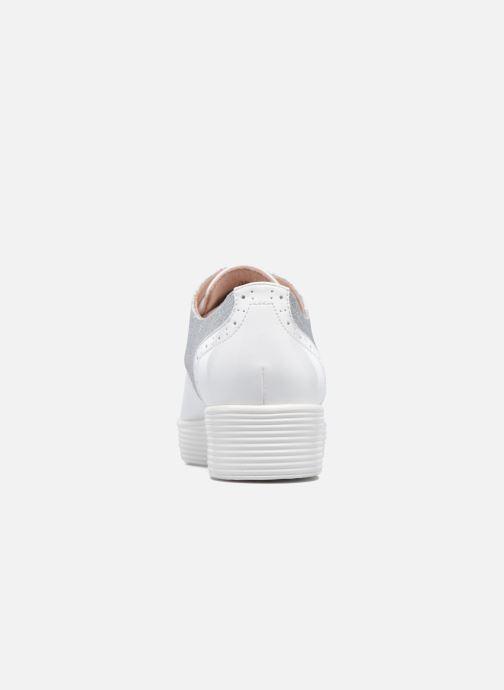 Chaussures à lacets Mellow Yellow Bigli Blanc vue droite