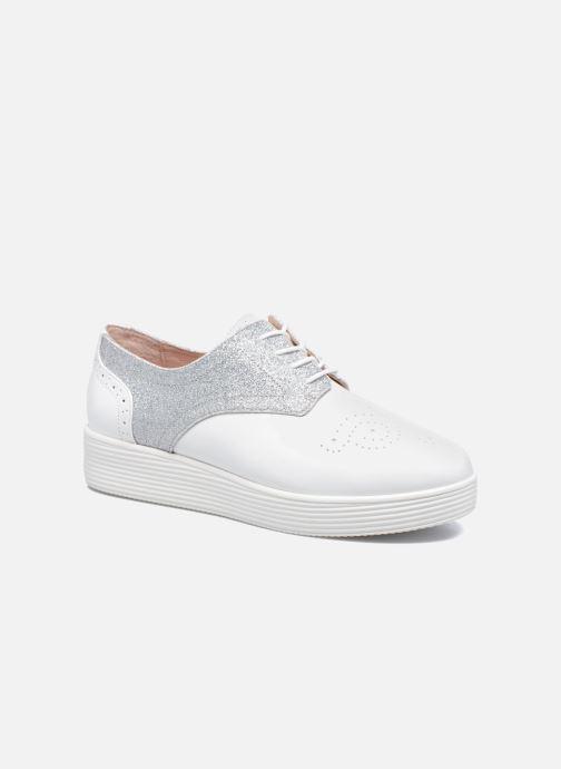 Chaussures à lacets Mellow Yellow Bigli Blanc vue détail/paire