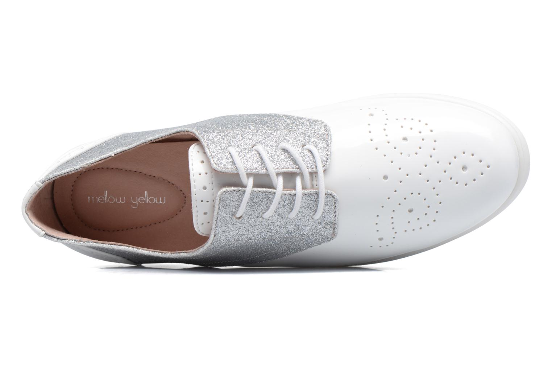 Zapatos con cordones Mellow Yellow Bigli Blanco vista lateral izquierda