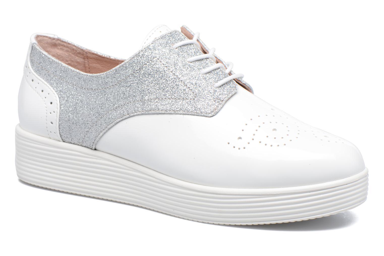 Zapatos con cordones Mellow Yellow Bigli Blanco vista de detalle / par