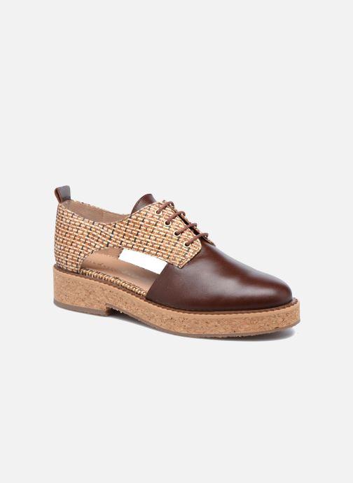 Chaussures à lacets Mellow Yellow Boy Marron vue détail/paire