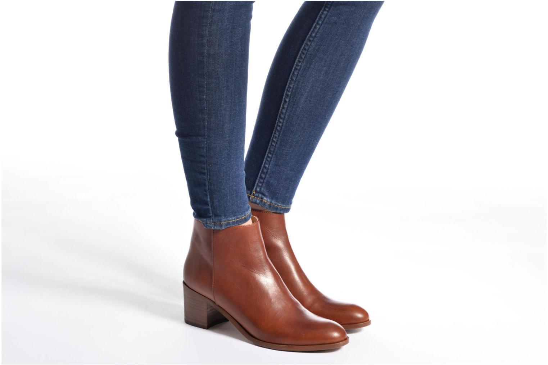 Bottines et boots Mellow Yellow Bhalia Marron vue bas / vue portée sac
