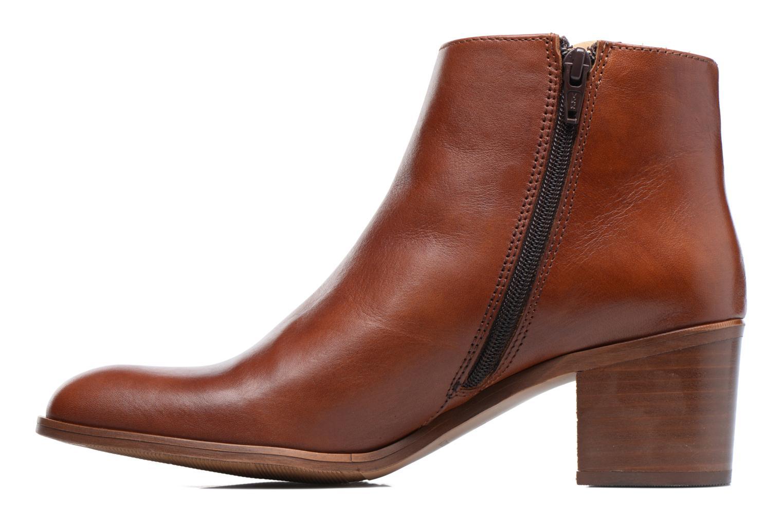 Bottines et boots Mellow Yellow Bhalia Marron vue face