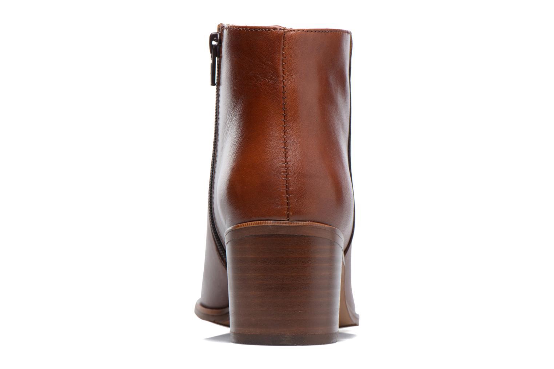 Bottines et boots Mellow Yellow Bhalia Marron vue droite