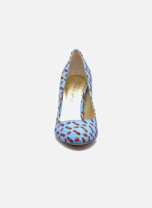 Escarpins Mellow Yellow Beyou Bleu vue portées chaussures