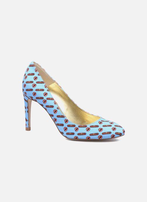Escarpins Mellow Yellow Beyou Bleu vue détail/paire