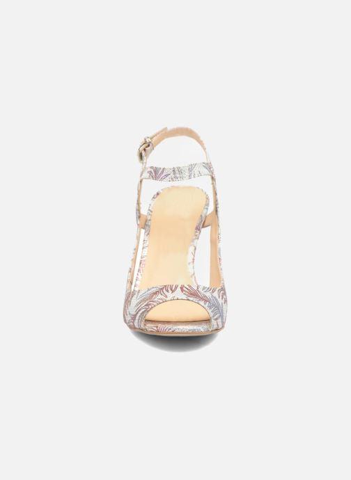 Sandales et nu-pieds Mellow Yellow Bellissima Blanc vue portées chaussures