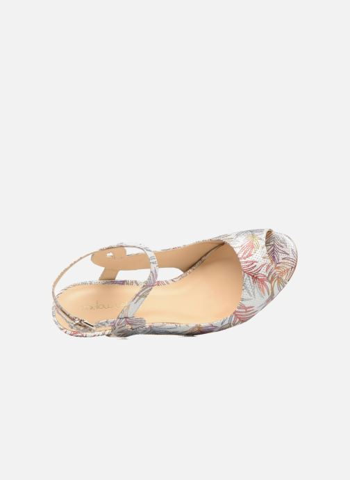 Sandales et nu-pieds Mellow Yellow Bellissima Blanc vue gauche