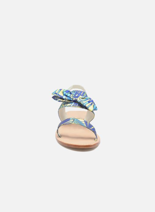 Sandales et nu-pieds Mellow Yellow Badona Bleu vue portées chaussures