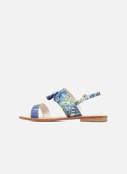 Sandales et nu-pieds Mellow Yellow Badona Bleu vue face