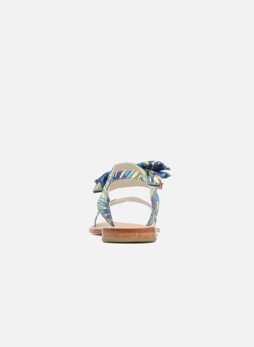 Sandales et nu-pieds Mellow Yellow Badona Bleu vue derrière