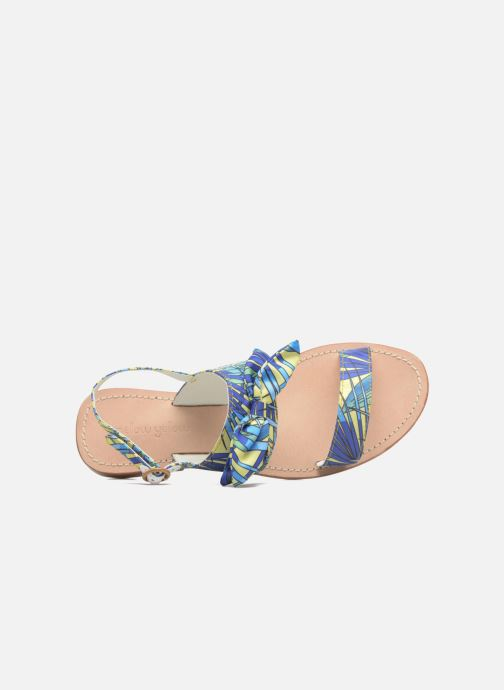 Sandales et nu-pieds Mellow Yellow Badona Bleu vue gauche