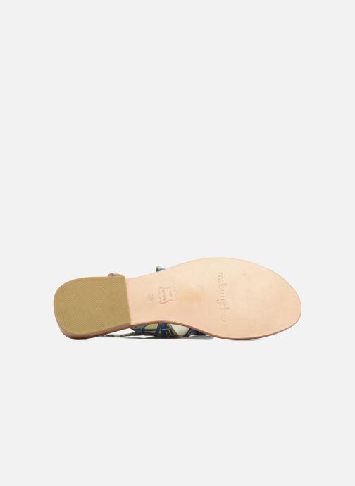 Sandales et nu-pieds Mellow Yellow Badona Bleu vue haut