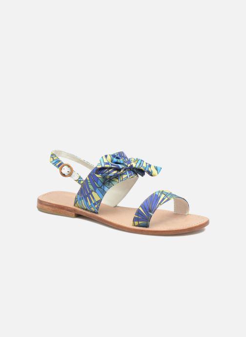 Sandales et nu-pieds Mellow Yellow Badona Bleu vue détail/paire