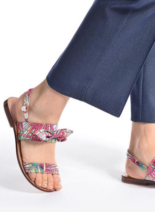 Sandales et nu-pieds Mellow Yellow Badona Rose vue bas / vue portée sac