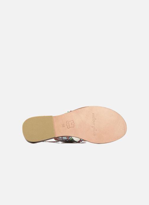 Sandales et nu-pieds Mellow Yellow Badona Rose vue haut