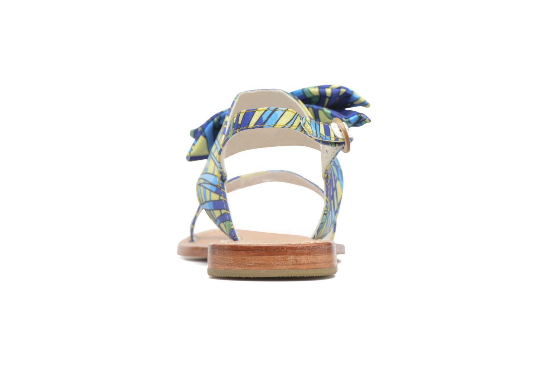 Sandalen Mellow Yellow Badona Blauw achterkant
