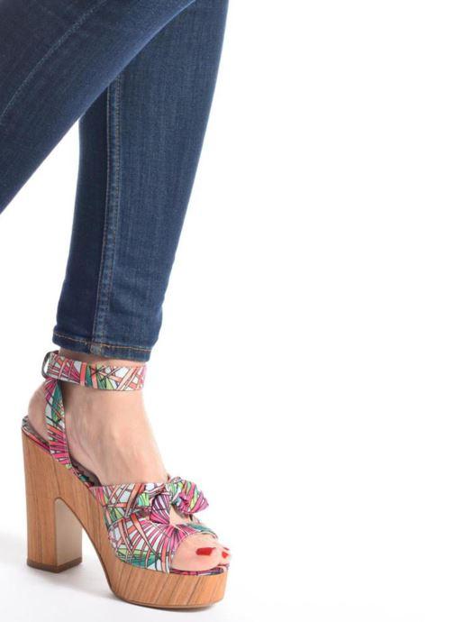 Sandales et nu-pieds Mellow Yellow Badou Rose vue bas / vue portée sac