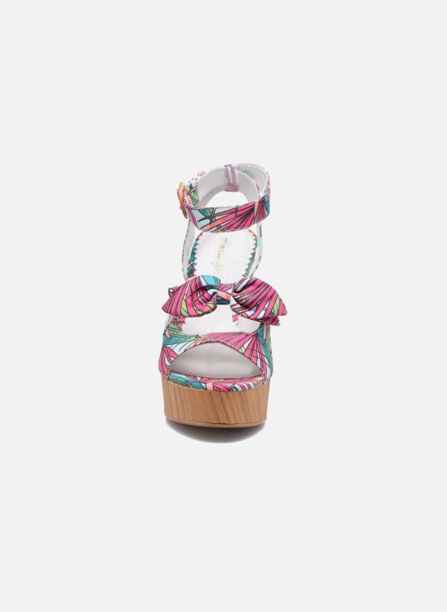 Sandales et nu-pieds Mellow Yellow Badou Rose vue portées chaussures