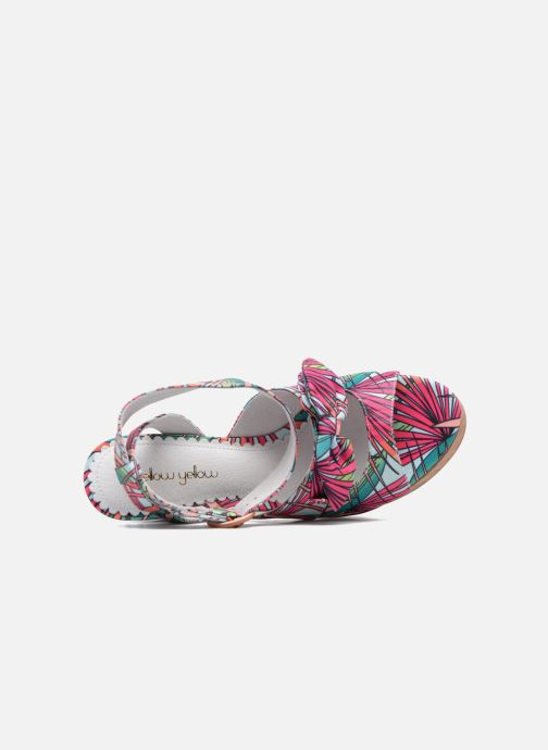 Sandales et nu-pieds Mellow Yellow Badou Rose vue gauche