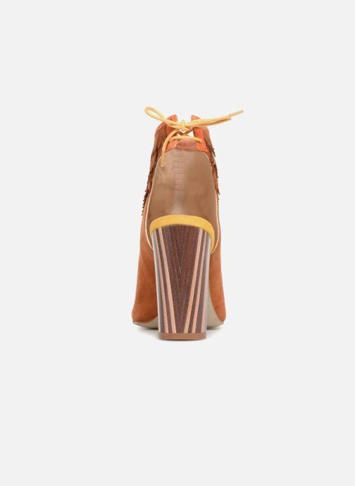 Sandales et nu-pieds Mellow Yellow Bravo Marron vue droite