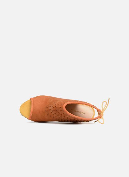 Sandales et nu-pieds Mellow Yellow Bravo Marron vue gauche