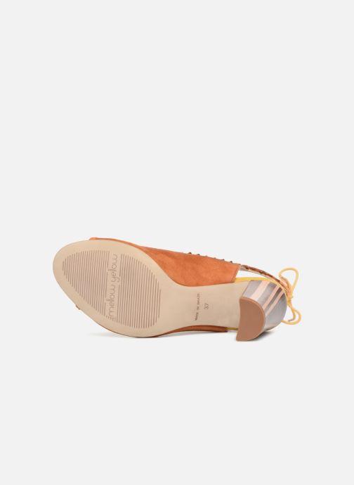 Sandales et nu-pieds Mellow Yellow Bravo Marron vue haut