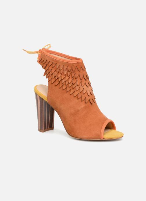 Sandales et nu-pieds Mellow Yellow Bravo Marron vue détail/paire