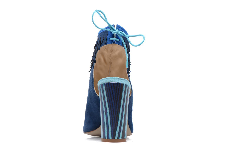 Sandales et nu-pieds Mellow Yellow Bravo Bleu vue droite