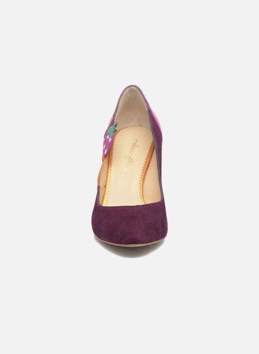 Escarpins Mellow Yellow Befruitty Violet vue portées chaussures