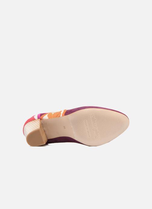 Zapatos de tacón Mellow Yellow Befruitty Violeta      vista de arriba