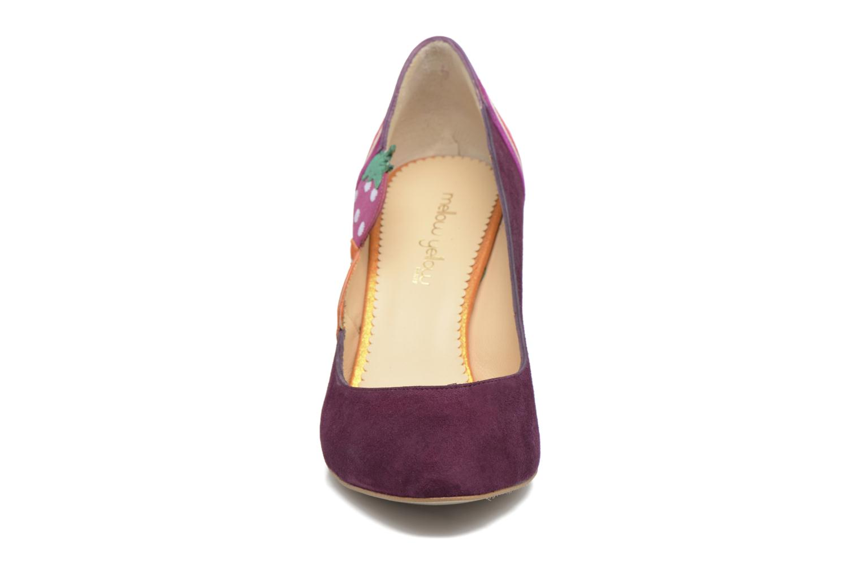 Zapatos de tacón Mellow Yellow Befruitty Violeta      vista del modelo