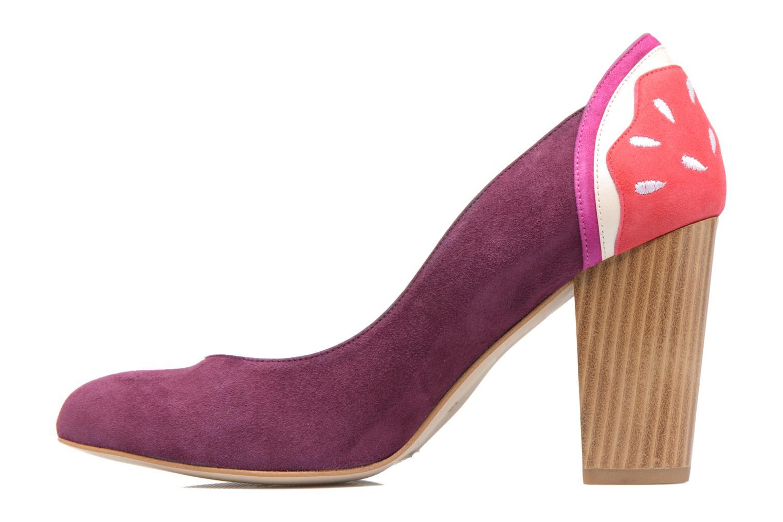 Zapatos de tacón Mellow Yellow Befruitty Violeta      vista de frente