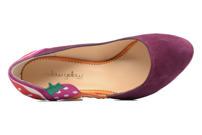 Zapatos de tacón Mellow Yellow Befruitty Violeta      vista lateral izquierda