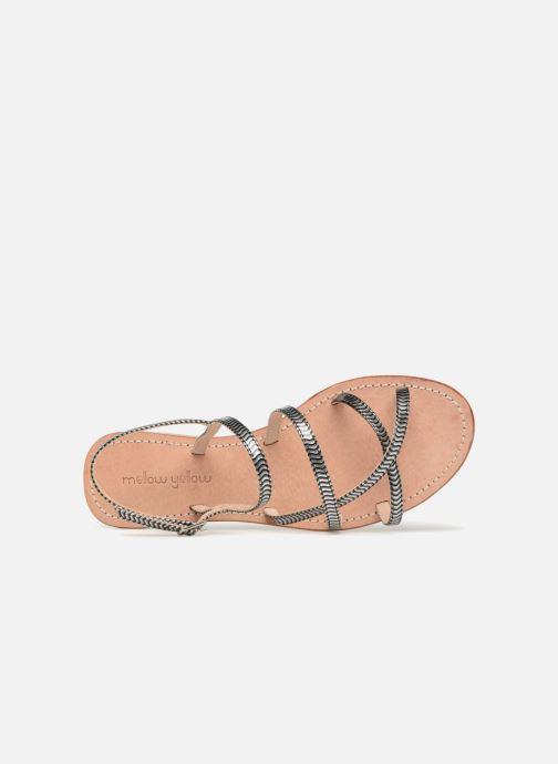 Sandales et nu-pieds Mellow Yellow Baloma Noir vue gauche
