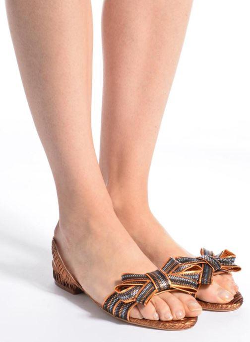 Sandales et nu-pieds Mellow Yellow Belcanto Orange vue bas / vue portée sac